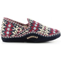 Schuhe Damen Hausschuhe Nordikas 2000 bleu