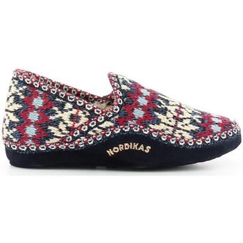 Schuhe Damen Hausschuhe Nordikas 2000 azul bleu