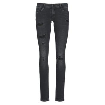 Kleidung Damen Slim Fit Jeans Kaporal LOKA Schwarz
