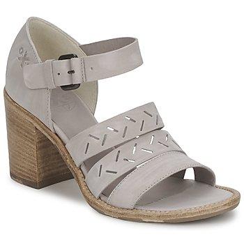 Schuhe Damen Sandalen / Sandaletten OXS ERABLI Grau