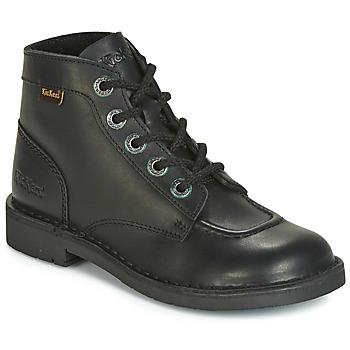Schuhe Damen Boots Kickers KICK COL Schwarz
