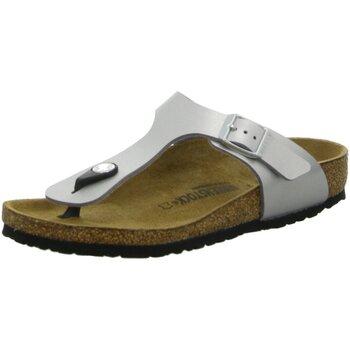 Schuhe Mädchen Sandalen / Sandaletten Birkenstock Schuhe Gizeh Kids 846153 846153 grau