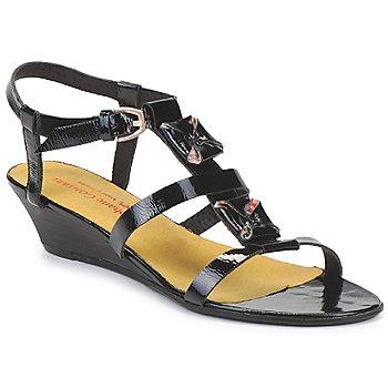 Schuhe Damen Sandalen / Sandaletten Stephane Gontard MALIBU Schwarz