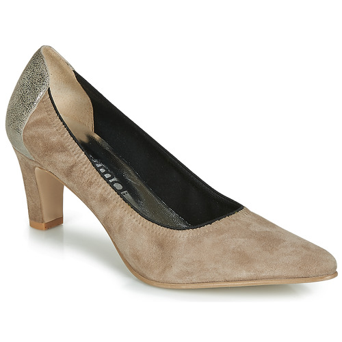 Schuhe Damen Pumps Myma ELEGANCY Beige