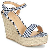 Schuhe Damen Sandalen / Sandaletten Moony Mood IPALA Blau