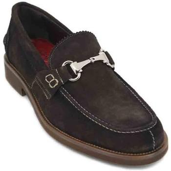Schuhe Herren Slipper Luis Gonzalo 7599H Zapatos de Hombre Braun