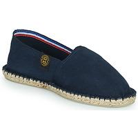 Schuhe Leinen-Pantoletten mit gefloch Art of Soule UNI Marine