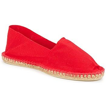 Schuhe Leinen-Pantoletten mit gefloch Art of Soule UNI Rot