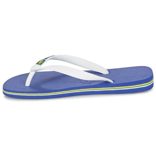 Havaianas BRASIL LOGO Weiss /  Marine  Schuhe Zehensandalen  / 21,60 69fd82