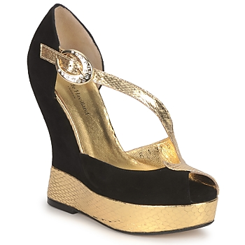 Schuhe Damen Sandalen / Sandaletten Terry de Havilland PENNY Garden Noir
