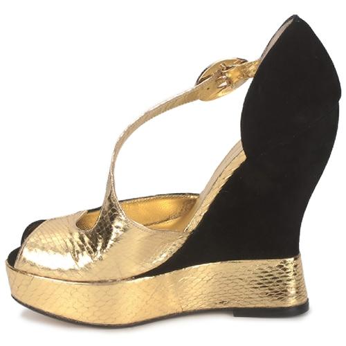 Terry de Havilland PENNY Garden noir  Schuhe Sandalen / Sandaletten Damen 460