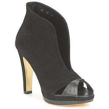 Schuhe Damen Ankle Boots Gaspard Yurkievich A9-VAR7 Schwarz