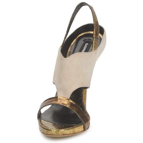 Gaspard Yurkievich T4 VAR8 Schuhe Beige / Goldfarben  Schuhe VAR8 Sandalen / Sandaletten Damen 279,50 1e6491