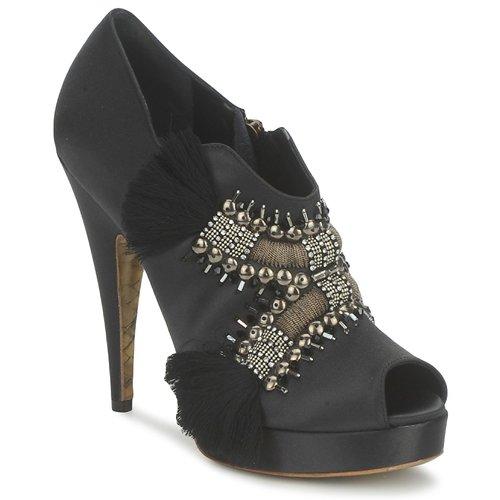 Schuhe Damen Ankle Boots Gaspard Yurkievich P1 VAR1 Grau