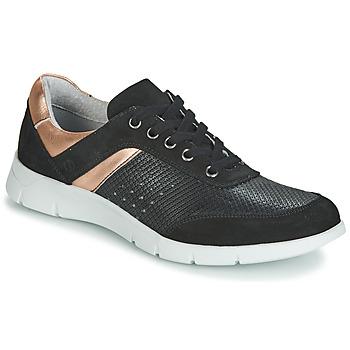 Schuhe Damen Sneaker Low Yurban JEBELLE Schwarz