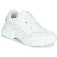 Schuhe Damen Sneaker Low Yurban JILIBELLE Weiss
