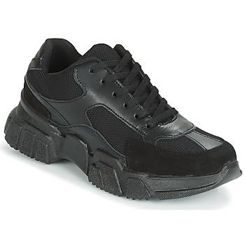 Schuhe Damen Sneaker Low Yurban JILIBELLE Schwarz