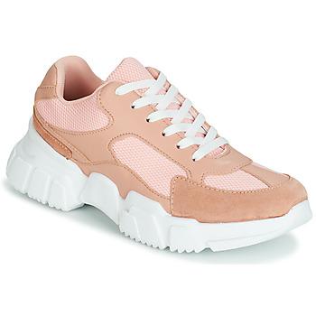 Schuhe Damen Sneaker Low Yurban JILIBELLE Rose