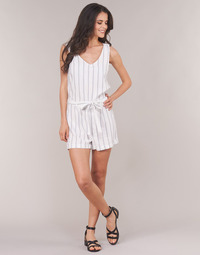 Kleidung Damen Overalls / Latzhosen Vero Moda VMANNA Weiss / Blau