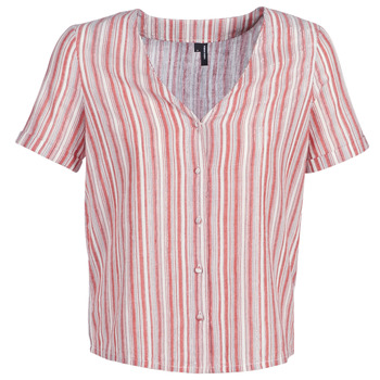 Kleidung Damen Tops / Blusen Vero Moda VMESTHER Rot