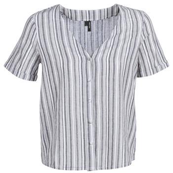 Kleidung Damen Tops / Blusen Vero Moda VMESTHER Marine / Weiss