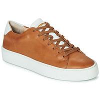 Schuhe Damen Sneaker Low Pataugas KELLA Cognac