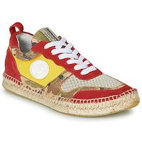 Schuhe Damen Sneaker Low Pataugas MARCIA Gelb / Rot