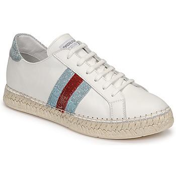 Schuhe Damen Sneaker Low Pataugas MARBELLA Weiss