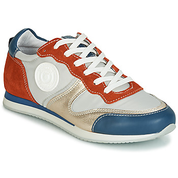 Schuhe Damen Sneaker Low Pataugas IDOL/MIX Orange / Beige / Blau