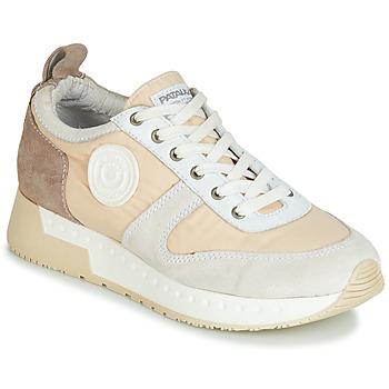 Schuhe Damen Sneaker Low Pataugas TESSA Beige / Grau