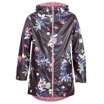 Kleidung Damen Parkas S.Oliver 04-899-61-5060-90G17 Marine / Multifarben