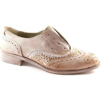 Schuhe Damen Richelieu Divine Follie Divine Madness 829B taupe Schuh Frau inglesina elastischen Stras Beige