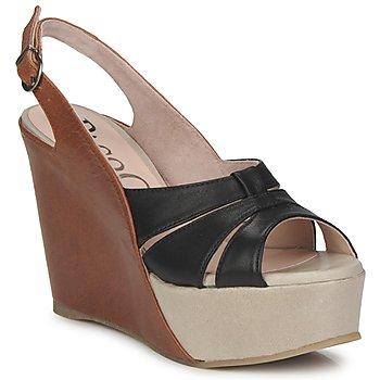 Schuhe Damen Sandalen / Sandaletten Paco Gil RITMO SELV Camel / Schwarz
