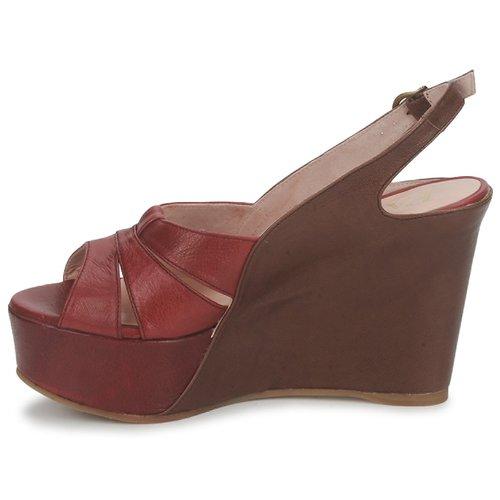 Paco Gil RITMO SELV Schuhe Camel / Bordeaux  Schuhe SELV Sandalen / Sandaletten Damen 199,20 77609d