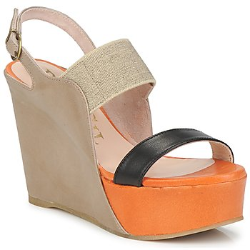 Schuhe Damen Sandalen / Sandaletten Paco Gil RITMO OULA Multifarben