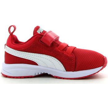 Schuhe Kinder Sneaker Low Puma Carson Runner baby Rot