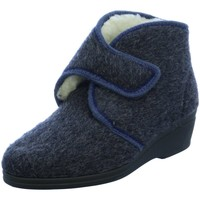Schuhe Damen Hausschuhe Rohde 2530-56 blau