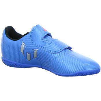 Schuhe Jungen Fitness / Training adidas Originals Hallenschuhe MESSI 16.4 IN J H&L BB4029 blau