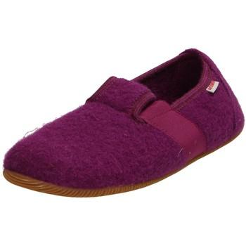 Schuhe Mädchen Hausschuhe Giesswein Weidach Kids 64-10-45210-392 blau