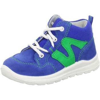 Schuhe Jungen Sneaker High Superfit Schnuerschuhe . blau