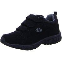 Schuhe Herren Sneaker Low Brütting Slipper -grau 191120 schwarz