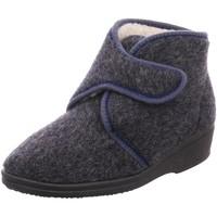 Schuhe Damen Hausschuhe Beck Evi,schwarz 7028-36 grau