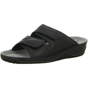 Schuhe Damen Pantoletten / Clogs Rohde Pantoletten Komfort Pantolette ab 30mm Sohlenhöhe 1940/90 schwarz