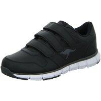 Schuhe Damen Sneaker Low Kangaroos Slipper 7644A/522 schwarz