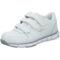 Schuhe Mädchen Sneaker Low Kangaroos Low Rg.gepr.13.01.16/25.06.18 7644A 0 002 weiß