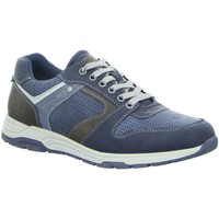 Schuhe Herren Sneaker Low Supremo Schnuerschuhe Schnürhalbs.Sp-Boden 4812102 00003 blau
