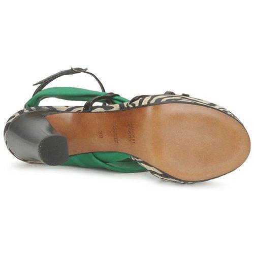 Michel Perry Sandalen 12709 Smaragd  Schuhe Sandalen Perry / Sandaletten Damen 409,50 50f0b9
