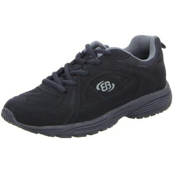 Schuhe Herren Sneaker Low Brütting Schnuerschuhe 191176 schwarz