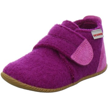 Schuhe Mädchen Hausschuhe Giesswein traube Oberstaufen 6410 45200/374 pink