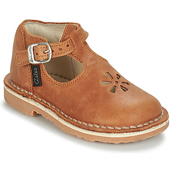 Schuhe Kinder Ballerinas Aster BIMBO Cognac